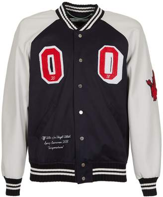 Off-White Off White Patches Varsity Jacket