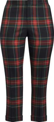 Ralph Lauren Tartan Skinny Crop Pant