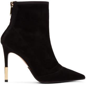 Balmain Black Blair Ankle Boots