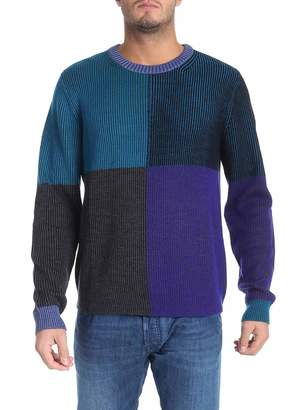 Paul Smith Ribbed Knit Pullover