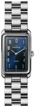 Shinola The Muldowney Rectangular Bracelet Watch, 24mm x 32mm