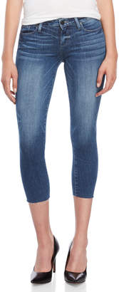 Paige Bloomfield Skyline Skinny Cropped Jeans