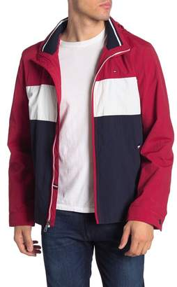 Tommy Hilfiger Stand Collar Lightweight Yachting Jacket