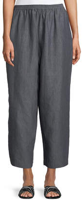 eskandar Cropped Japanese Trousers