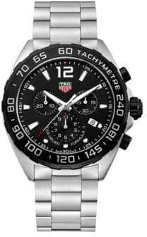 Tag Heuer Chronograph Formula 1 Steel Bracelet Watch