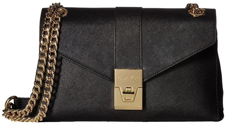 Calvin KleinCalvin Klein Alexis Saffiano Shoulder Bag