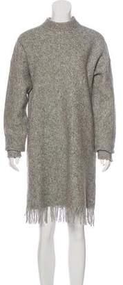 Alexander Wang Long Sleeve Sweater Dress