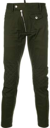 DSQUARED2 quilted detail jeans