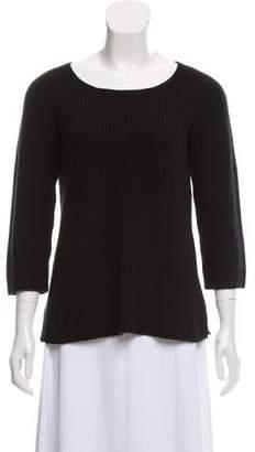 Calypso Cashmere Rib Knit Sweater