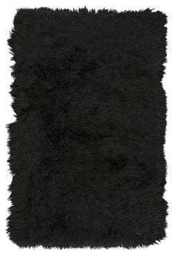 Kathy Ireland Home Studio Textured Rug Collection- Onyx