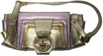 Fendi Gold Leather Handbags