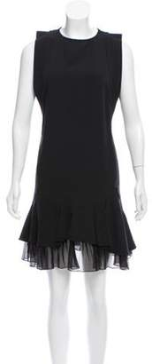 Aquilano Rimondi Aquilano.Rimondi Sleeveless Ruffle-Tiered Dress Black Aquilano.Rimondi Sleeveless Ruffle-Tiered Dress