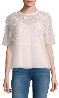 French Connection Agnes Floral Top $168 thestylecure.com