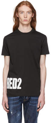 DSQUARED2 Black Bottom Logo T-Shirt