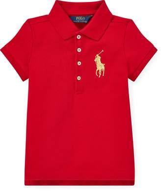Ralph Lauren Big Pony Stretch Mesh Polo
