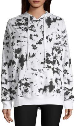 Flirtitude Womens Long Sleeve Fleece Hoodie-Juniors