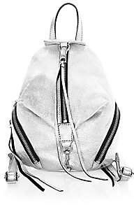 Rebecca Minkoff Women's Mini Julian Metallic Leather Backpack