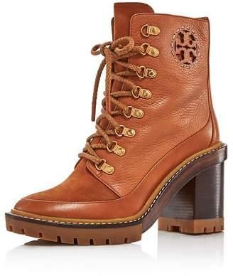 Tory Burch Women's Miller Block Heel Hiker Boots