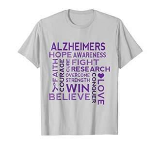 Alzheimers Disease Support Walk T-shirt
