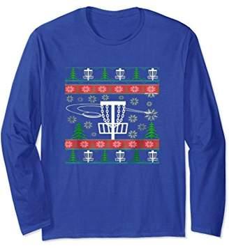 Disc Golf Ugly Christmas Sweatshirt