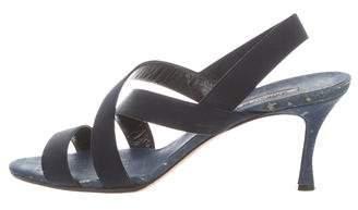 Manolo Blahnik Lasti Slingback Sandals