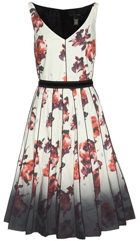 Marc Jacobs Marc Jacobs Printed Cotton Dress