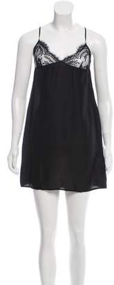 Alessandro Dell'Acqua Lace-Accented Sleeveless Dress w/ Tags