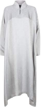 eskandar A-Line Mandarin Collar Dress