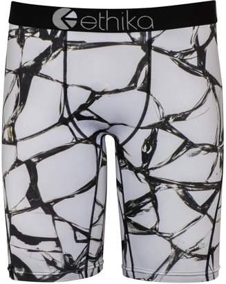 Ethika Men's Shattered The Staple Fit Boxer Brief Underwear-XL