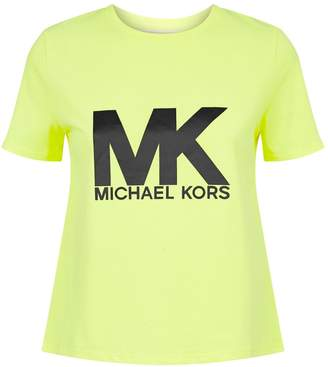 Michael Kors Cropped Logo T-Shirt