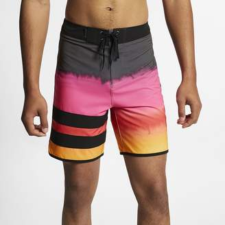"Nike Men's 18"" Board Shorts Hurley Phantom Block Party Fever"
