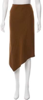 Donna Karan Wool Midi Skirt