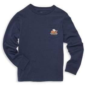 Vineyard Vines Baby, Little& Boy's Thanksgiving Turkey Logo Tee