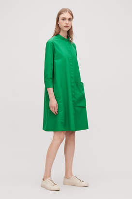 Cos SHIRT DRESS WITH LARGE POCKET