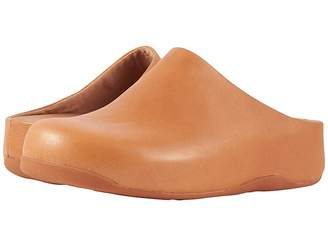 FitFlop Shuvtm Leather Women's Clog Shoes