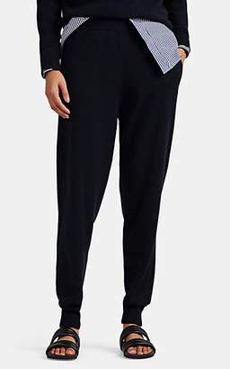Jil Sander Women's Brushed Cashmere Jogger Pants - Navy