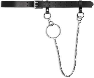 Topshop Double Prong Chain Belt