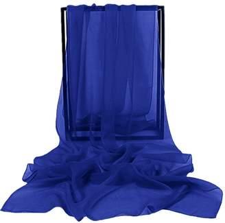 VaniaDress Women Chiffon Long Shawls Bridal Wrap Evening Dress Scarves V002PJ L