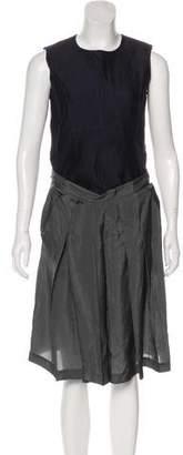 Marni Sleeveless Scoop Neck Dress