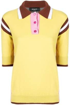 Rochas knitted polo shirt