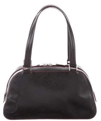 Lambertson Truex Textured Leather Shoulder Bag