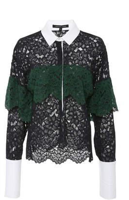 Marissa Webb Justine Lace Shirt