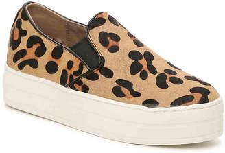 Women's Street Uplift Wild Thang Flatform Sneaker -Tan Leopard Print $75 thestylecure.com