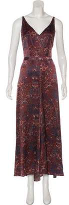 Veda Silk Maxi Dress