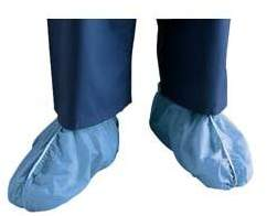Cardinal Health Dura-fit Shoe Cover XL, Blue Box of 100