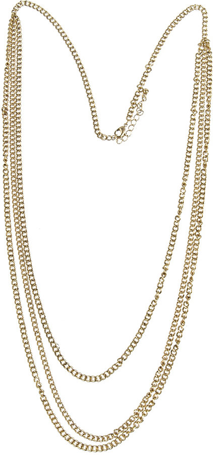 Triplet Chain Necklace