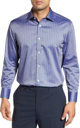 English Laundry Regular Fit Stripe Dress Shirt
