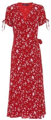 Polo Ralph Lauren Printed crêpe wrap dress