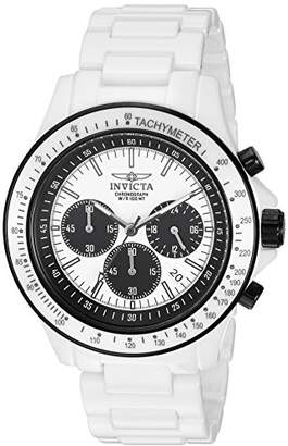 Invicta Men's 'S1 Rally' Quartz Stainless Steel and Ceramic Casual Watch