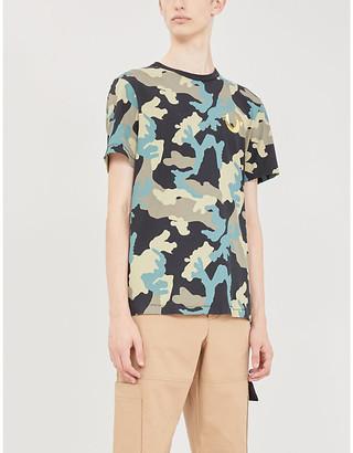True Religion Camouflage graphic-print cotton-jersey T-shirt